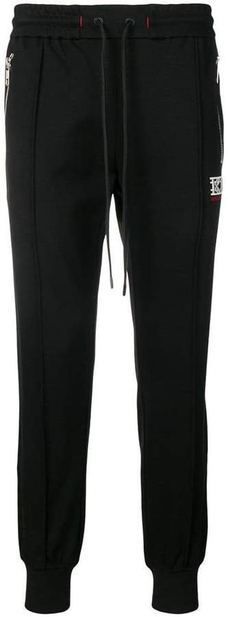 jogging tapered trousers