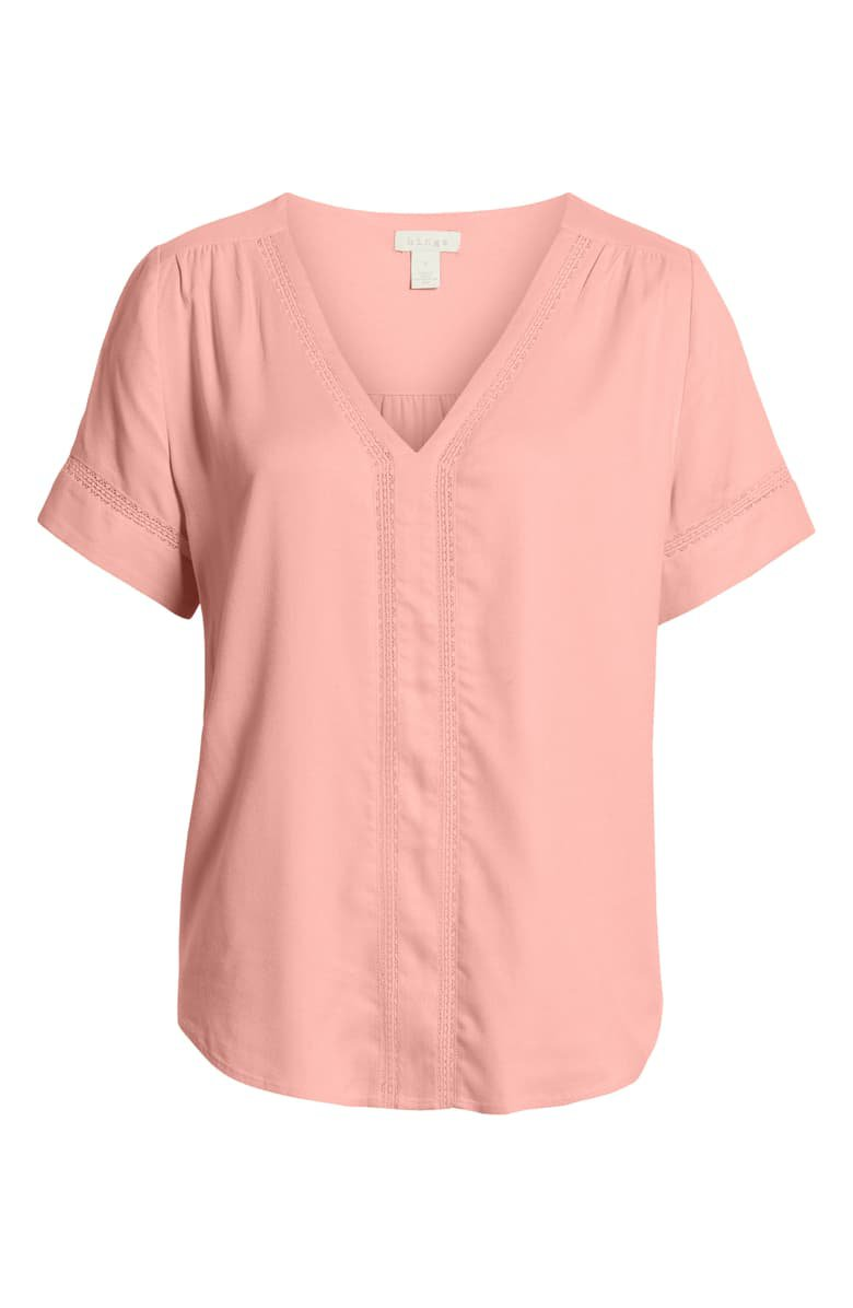 Hinge Pullover V-Neck Blouse | Nordstrom