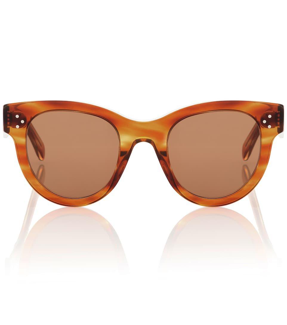 Cat-Eye Acetate Sunglasses - Celine Eyewear | Mytheresa