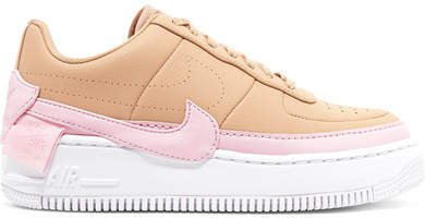Air Force 1 Jester Xx Leather Sneakers - Beige