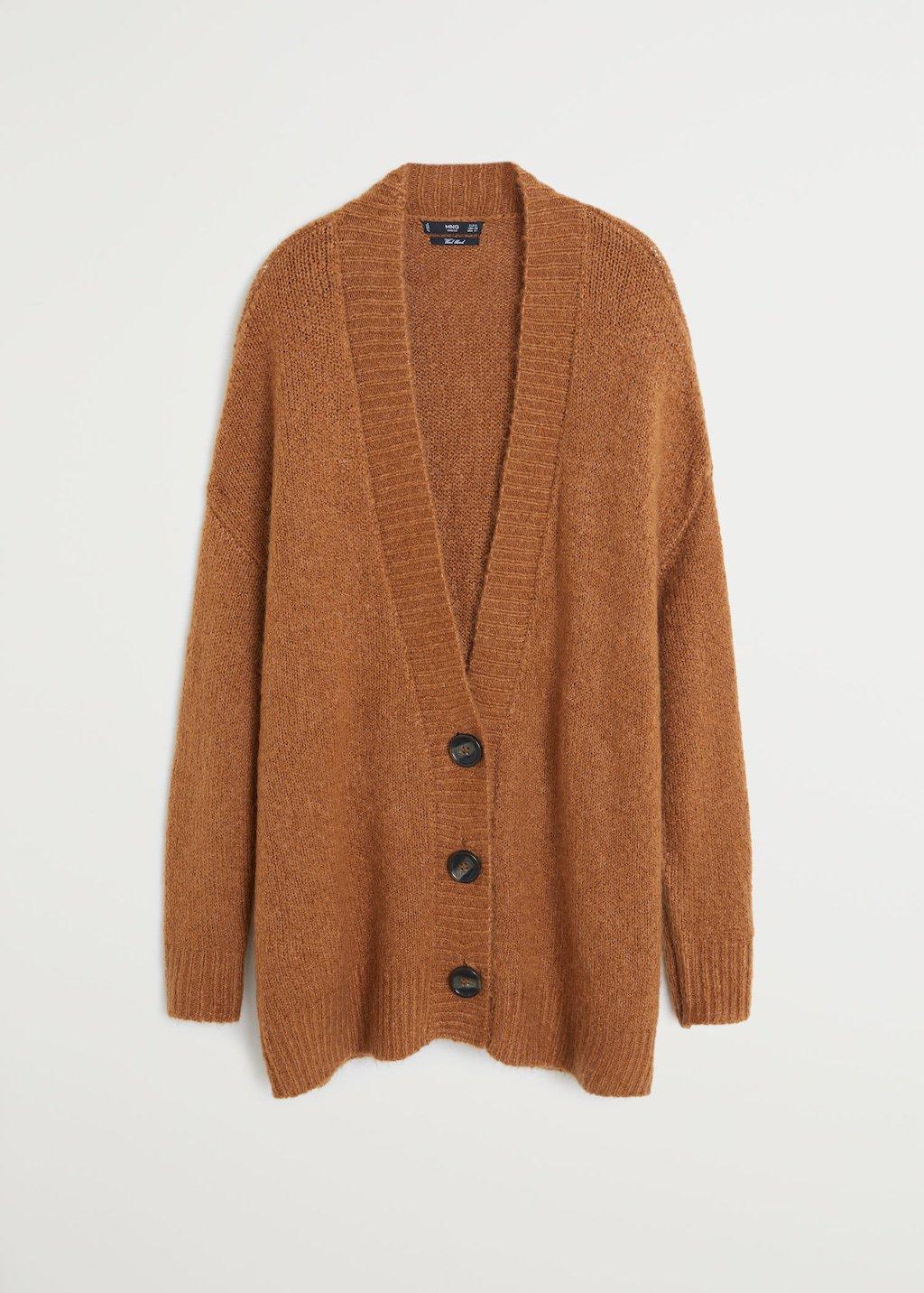 Button knit cardigan - Women | Mango USA