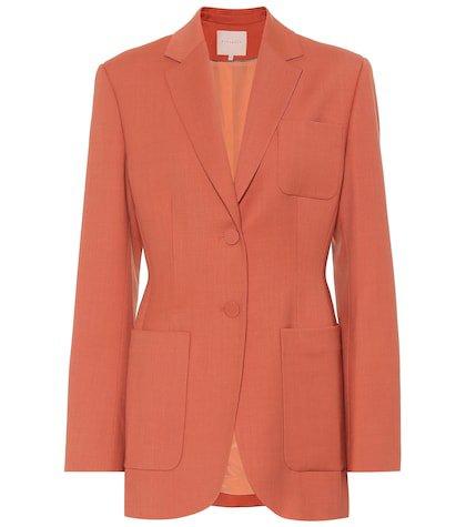 Sienna wool-blend blazer