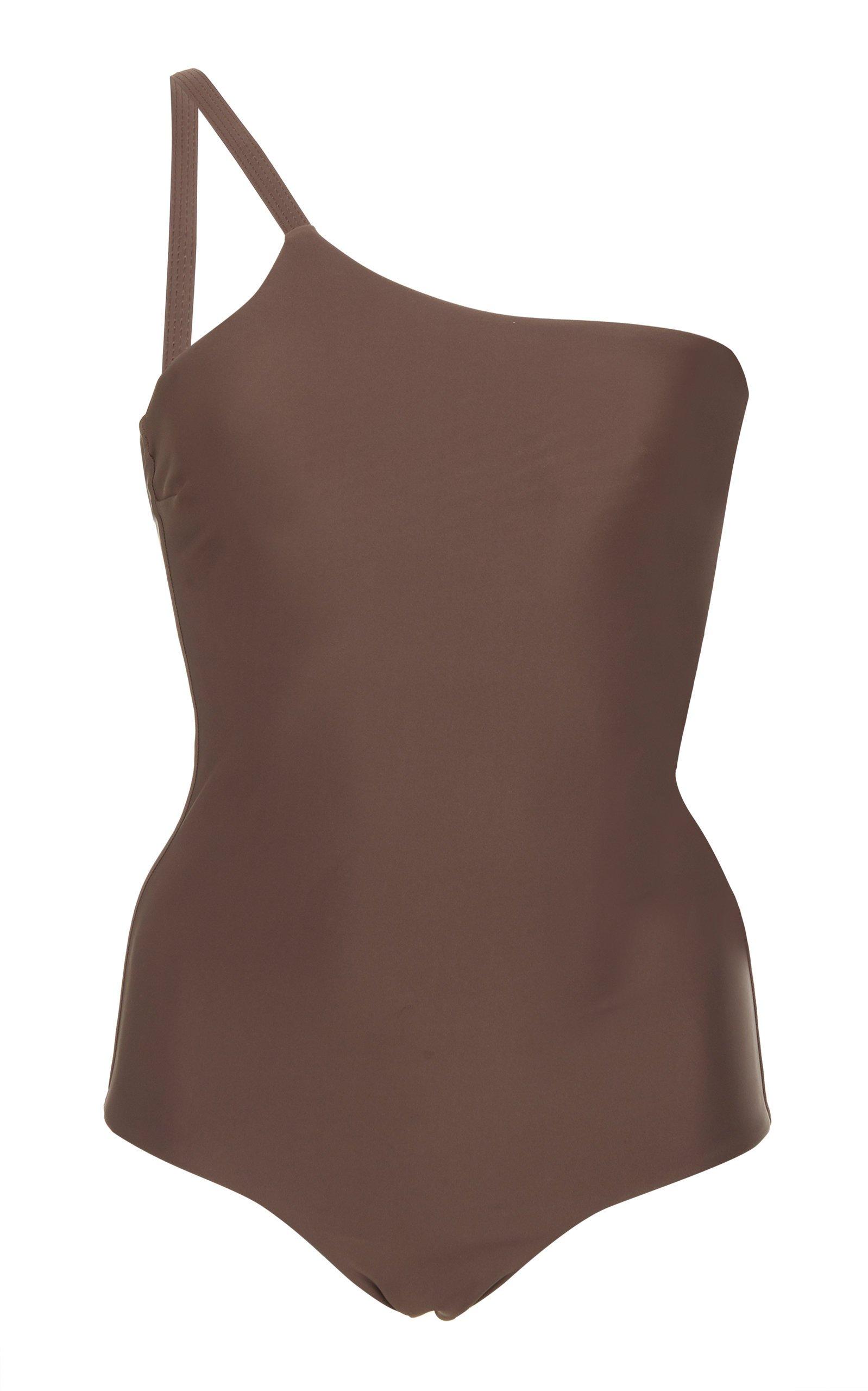 Matteau One-Shoulder Swimsuit Size: 4