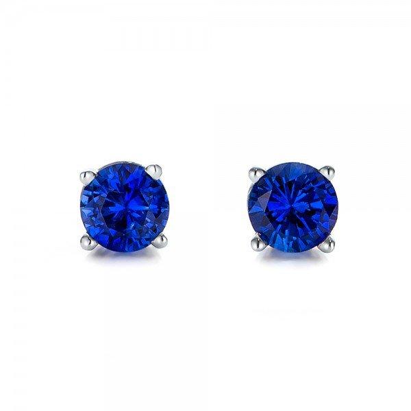 blue earings - Google Search