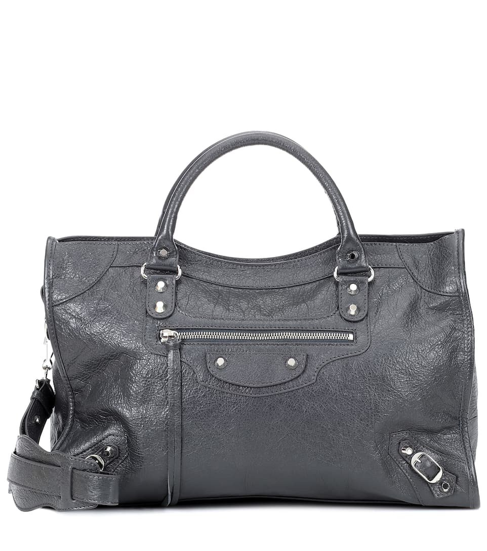 Classic City Medium Leather Tote - Balenciaga  