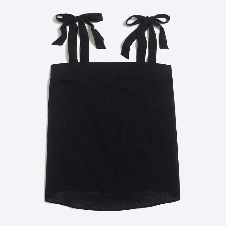 Tie-shoulder cami top