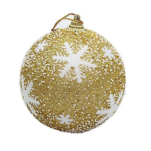 Tcetoctre Christmas Balls Baubles Party Xmas Tree Decorations Hanging Ornament Decor-Gold, détails et prix au Maroc - Vendo.ma