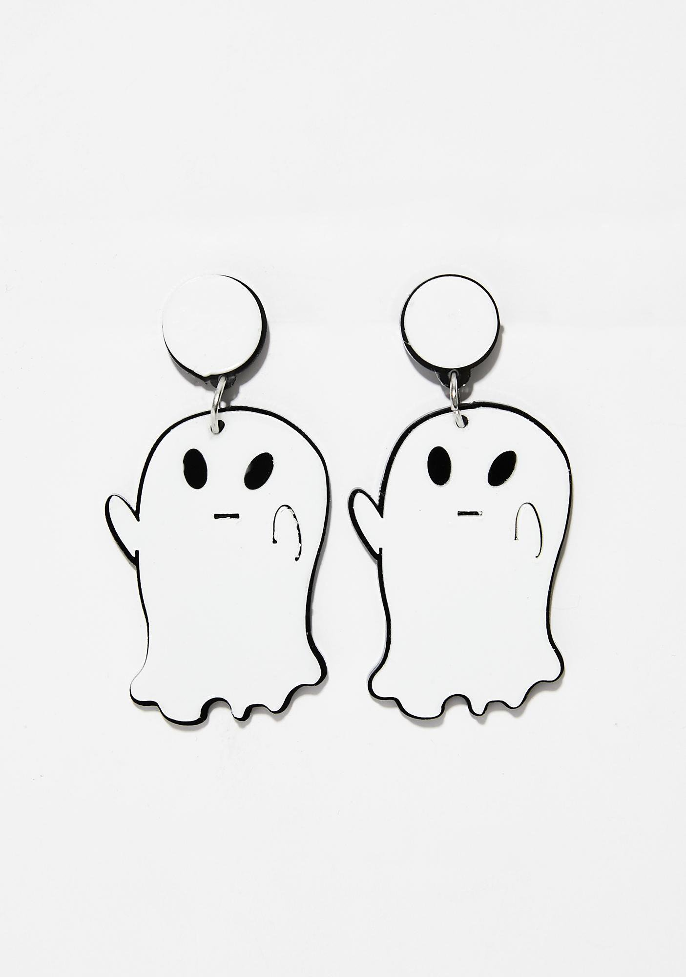 Ghost Drop Earrings | Dolls Kill