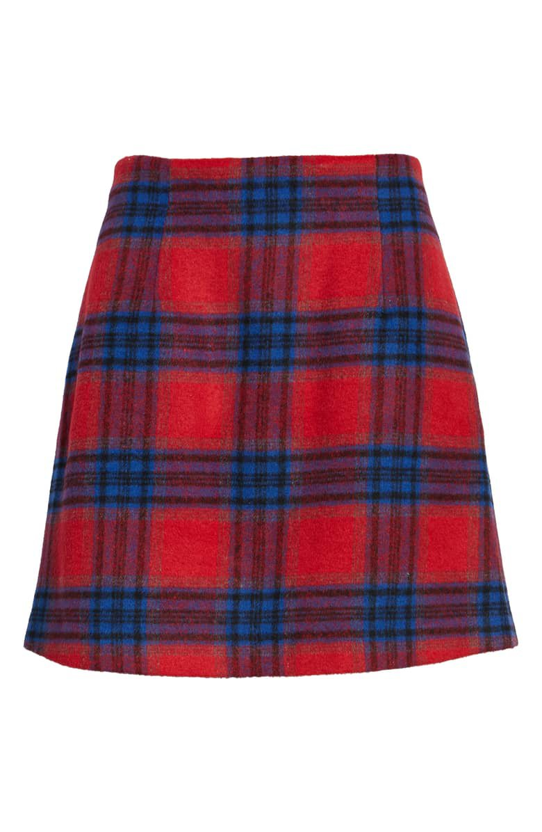 BP. Plaid Melton Skirt | Nordstrom