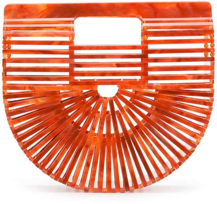 Acrylic Ark Mini clutch bag