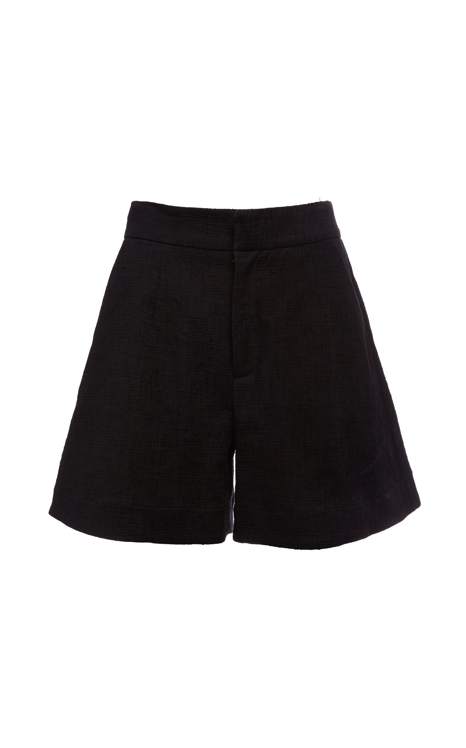 La DoubleJ Good Butt High-Rise Cotton Shorts Size: XS