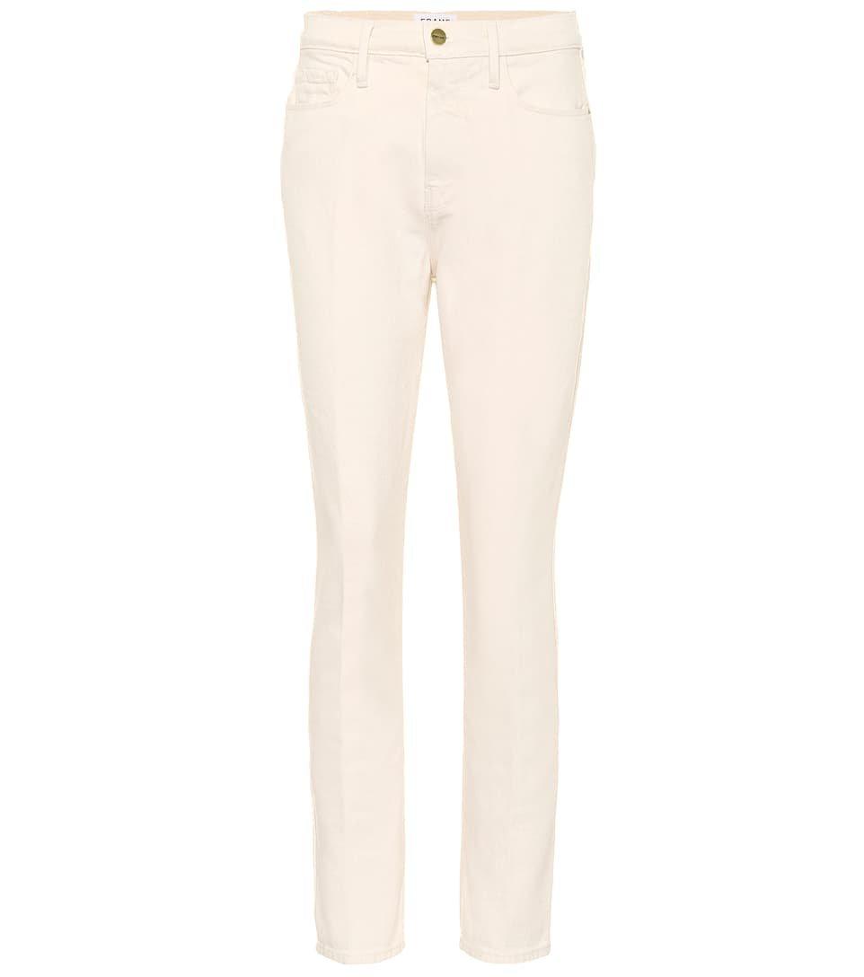 Le Sylvie Slender High-Rise Jeans - Frame |