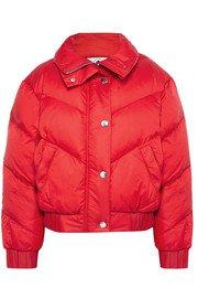 Cordova | The Snowbird metallic quilted down ski jacket | NET-A-PORTER.COM