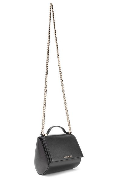 Givenchy | Pandora Box mini textured-leather shoulder bag | NET-A-PORTER.COM