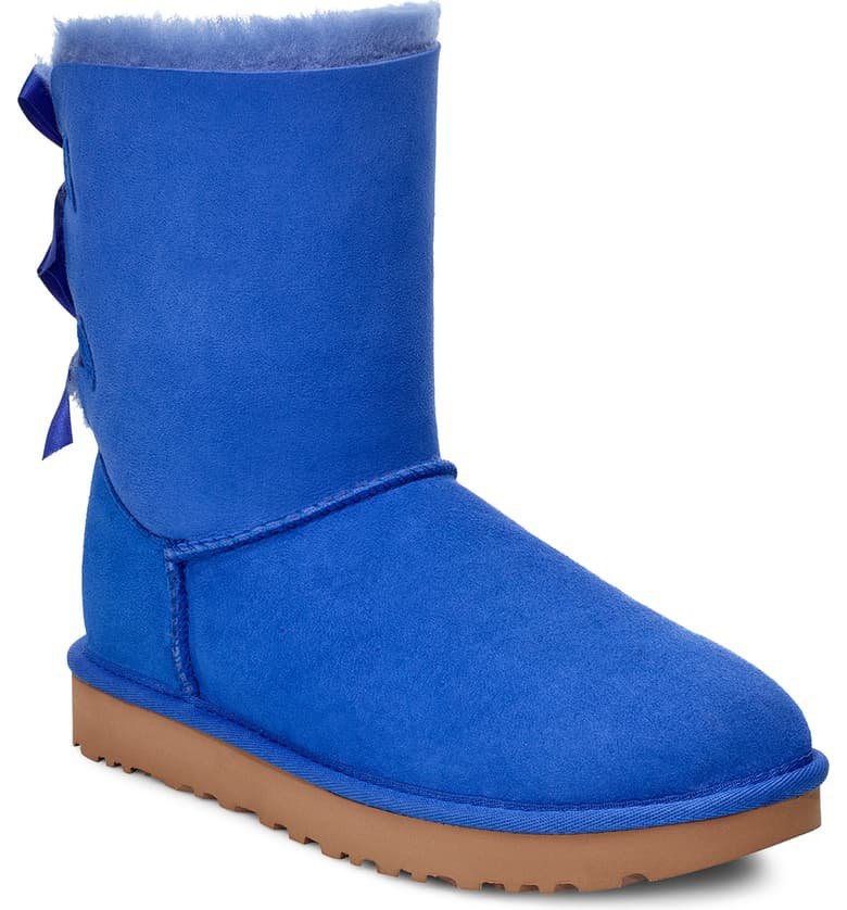 UGG® Bailey Bow II Genuine Shearling Boot (Women) | Nordstrom