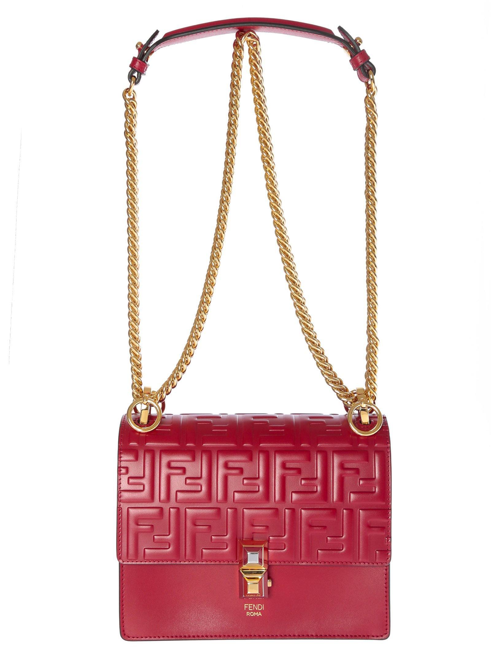 Fendi Small Kan Shoulder Bag