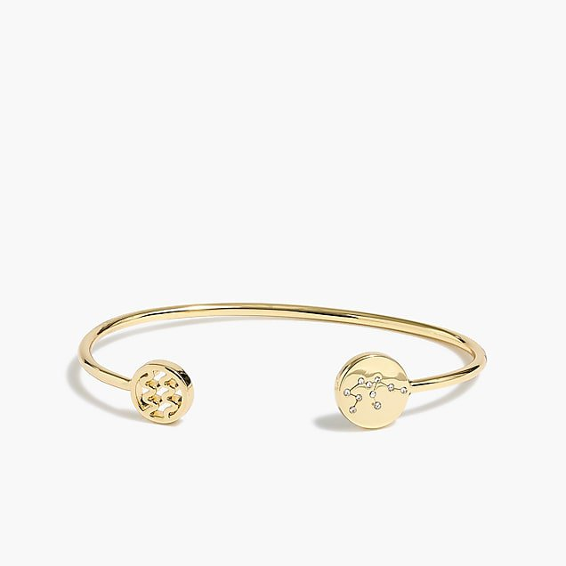 J.Crew Factory: Zodiac cuff bracelet