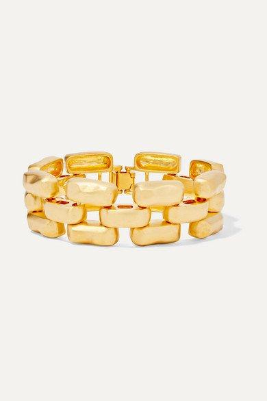 Kenneth Jay Lane   Gold-tone bracelet   NET-A-PORTER.COM