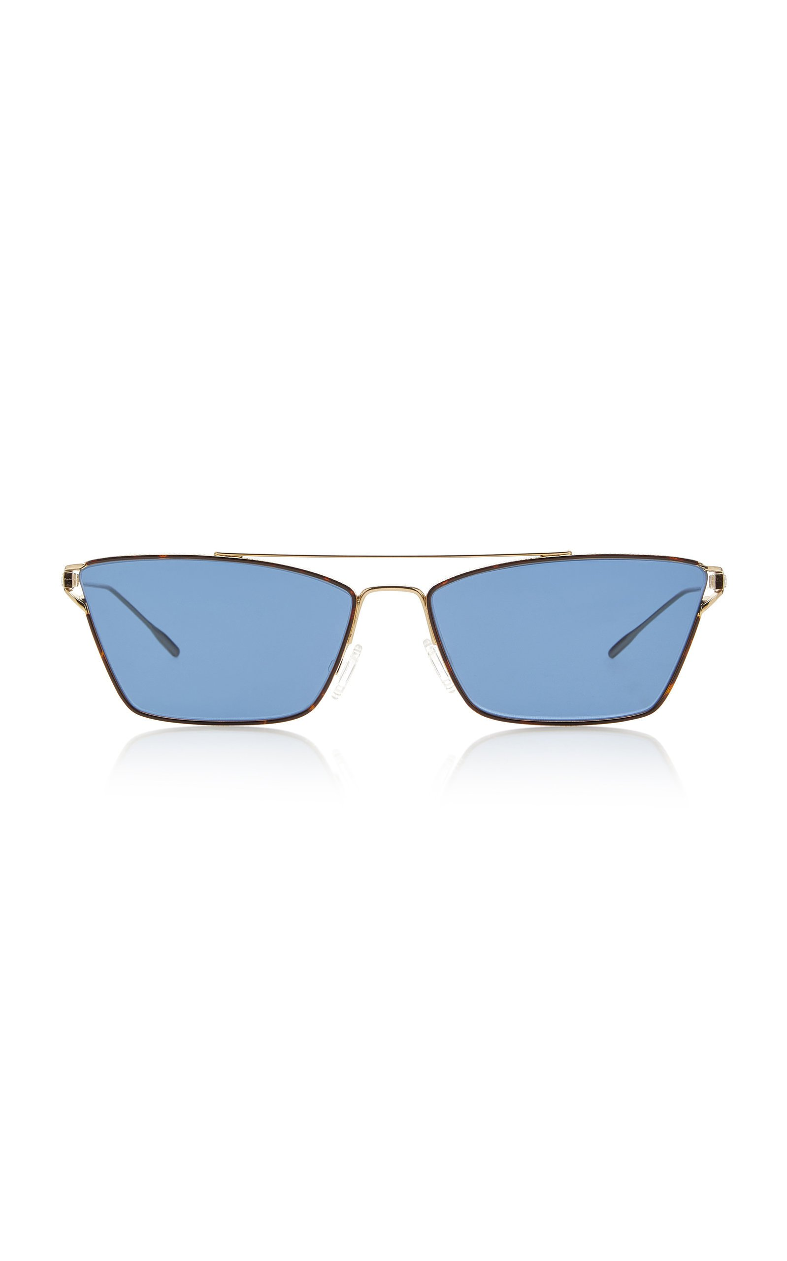 Oliver Peoples Evey Cat-Eye Metal Sunglasses