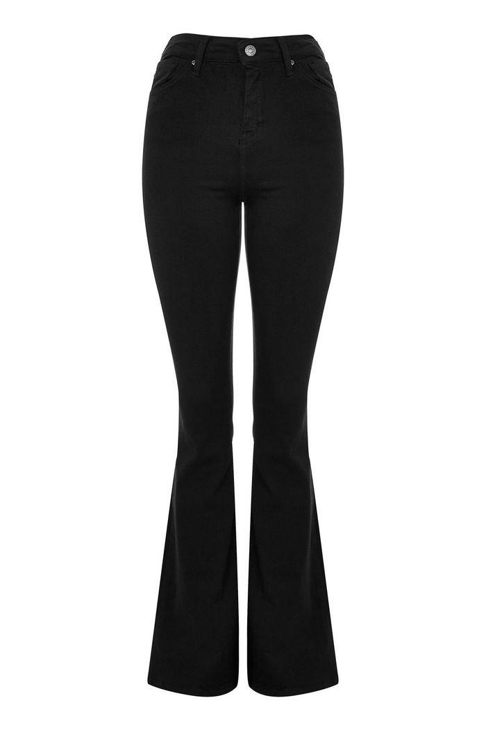 Black Flared Jamie Jeans | Topshop