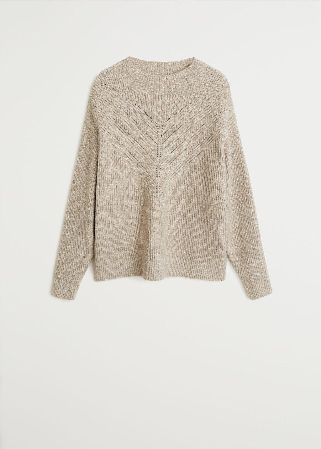 Knit cotton sweater - Women | Mango USA