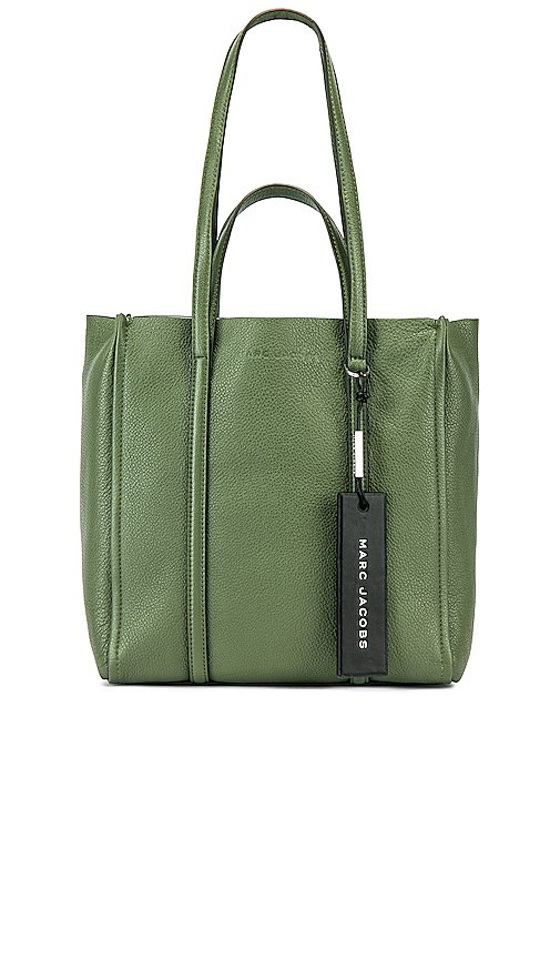 Marc Jacobs The Tag Tote 27 in Sage | REVOLVE
