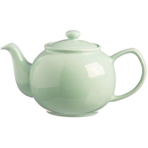 mint green teapot png filler