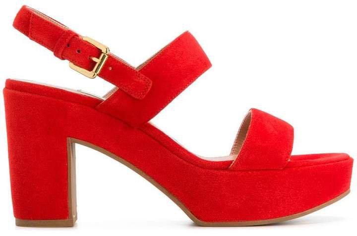 open-toe platform sandals