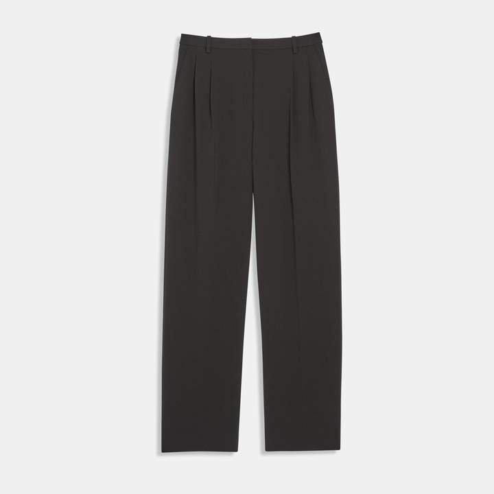 Crepe Suit Trouser