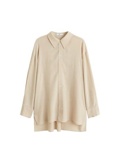 MANGO Oversized shirt