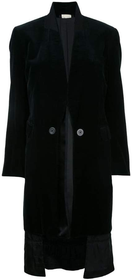 Pre-Owned velvet reversible coat
