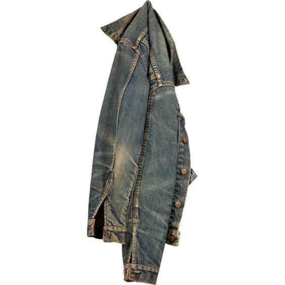 dirty denim jacket
