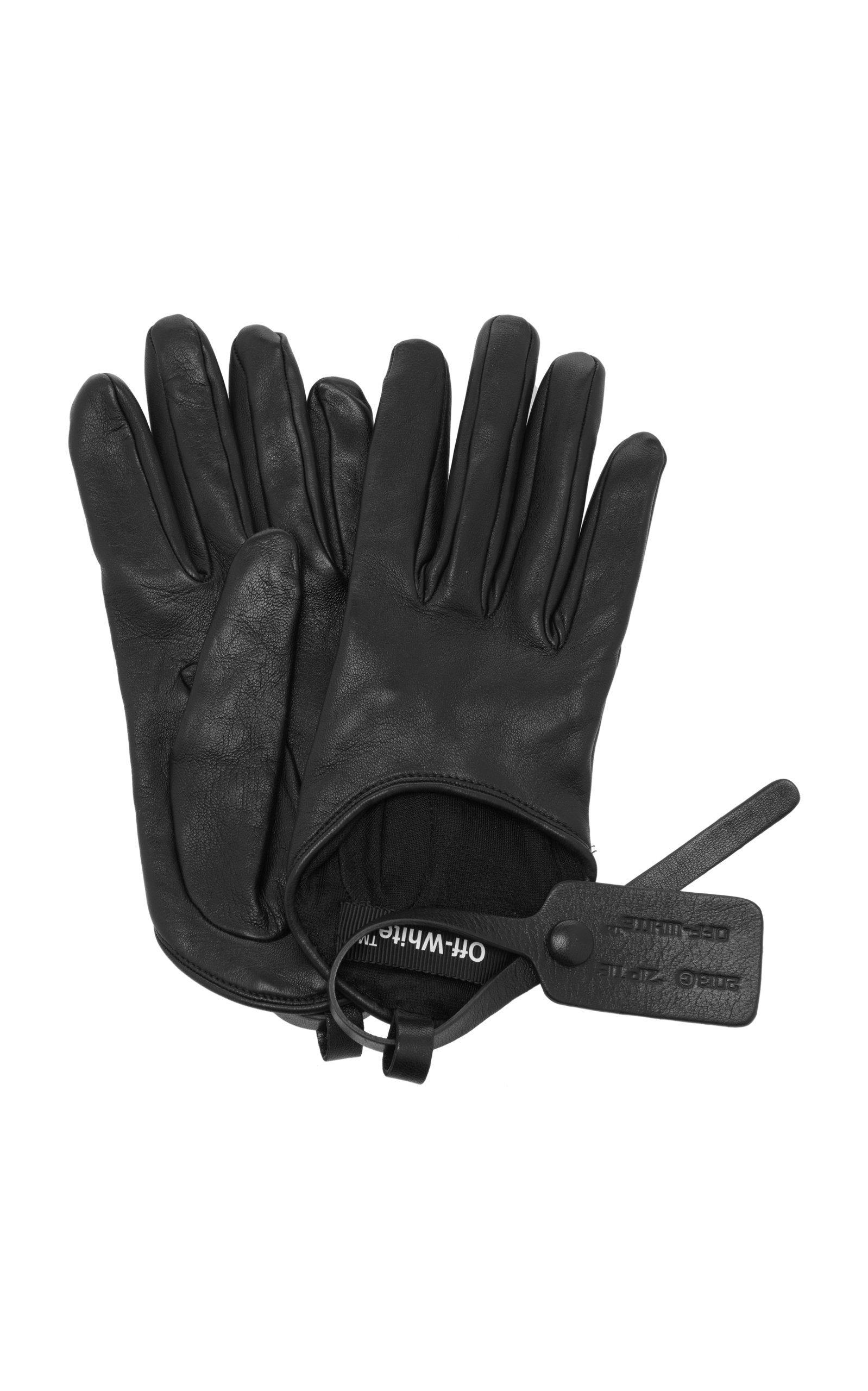 Leather Gloves by Off-White c/o Virgil Abloh   Moda Operandi