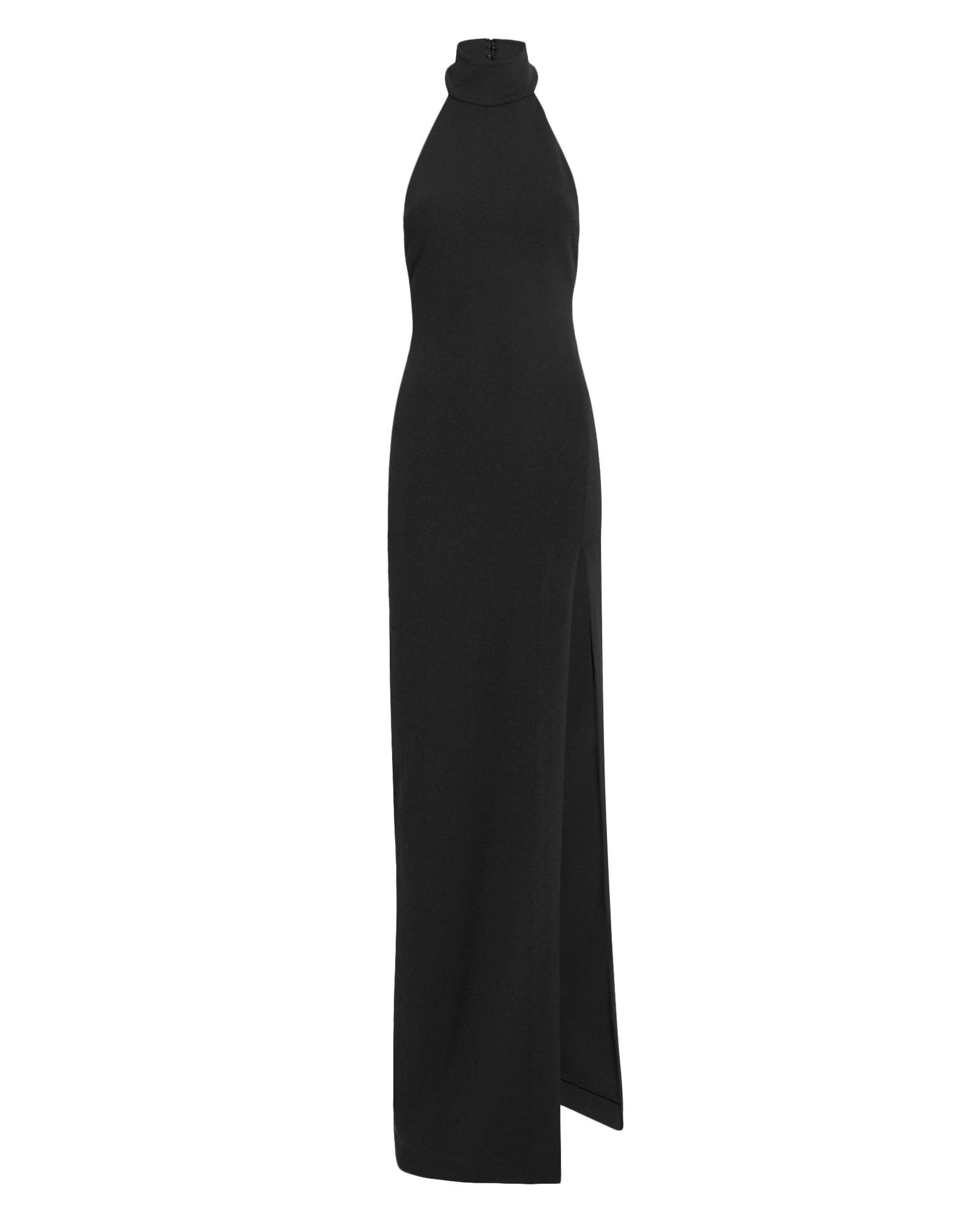 Zadid Black Turtleneck Dress