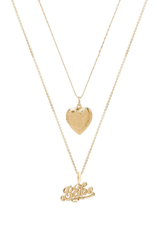 X REVOLVE Babe Necklace
