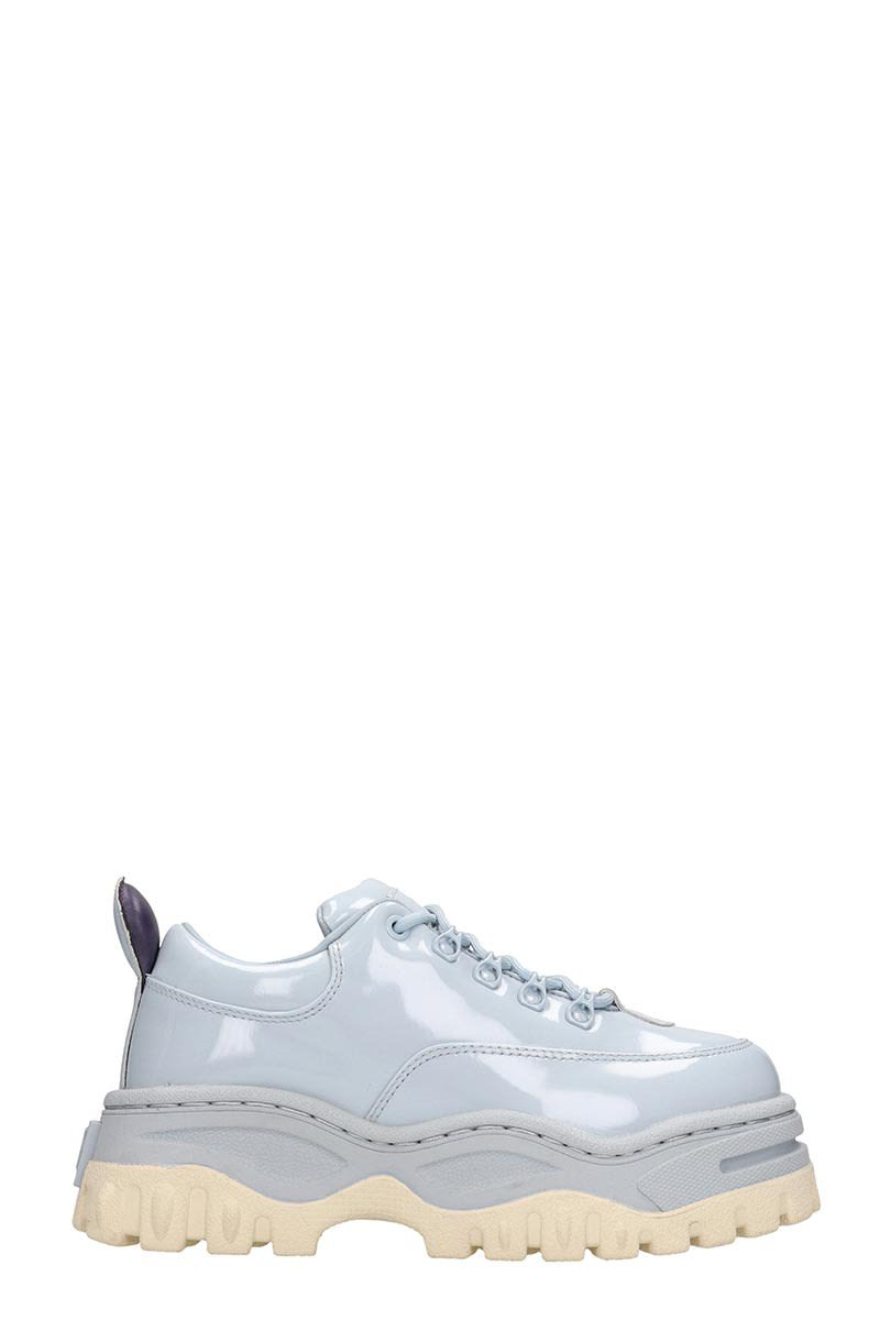 Eytys Angel Light Blue Leather Sneakers