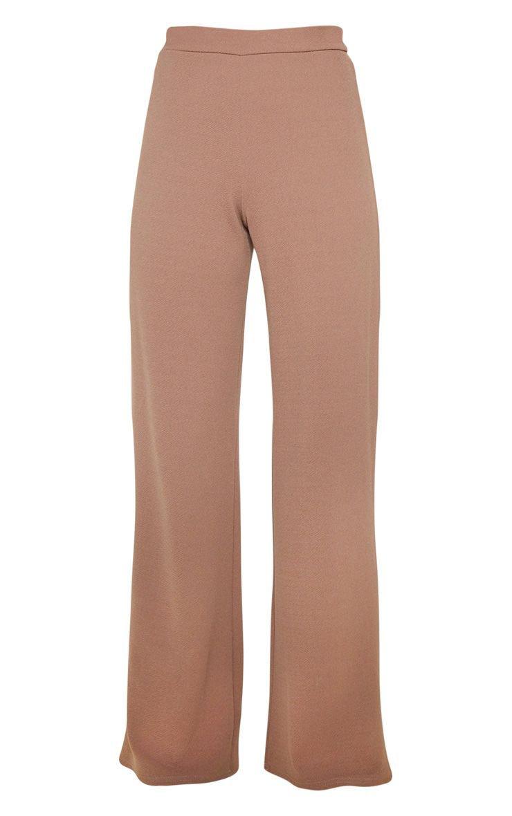 Sage Khaki Wide Leg Trouser   Co-Ords   PrettyLittleThing USA