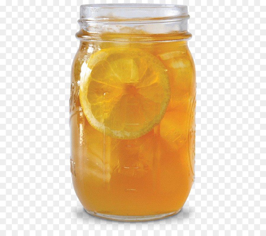 Orange drink Arnold Palmer Sweet tea John Daly Iced tea  glass jar