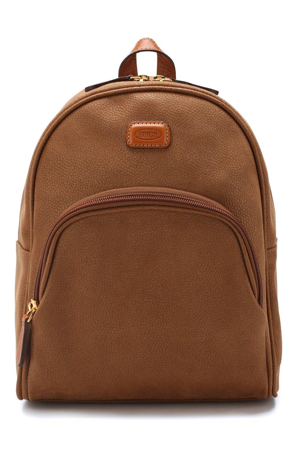 Мужская бежевая дорожный рюкзак life small BRIC`S — купить за 22050 руб. в интернет-магазине ЦУМ, арт. BLF 51656