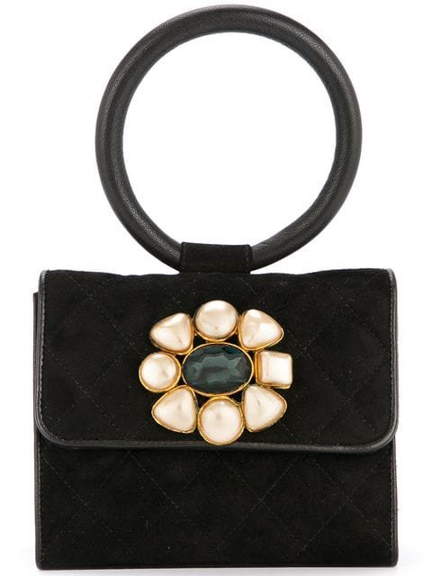 Chanel Pre-Owned Pearl Bijou mini bag $6,567 - Buy AW18 Online - Fast Global Delivery, Price