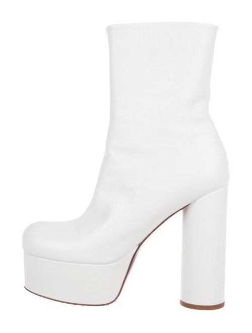 Vetements Leather Platform Boots - Shoes - VTM21734 | The RealReal