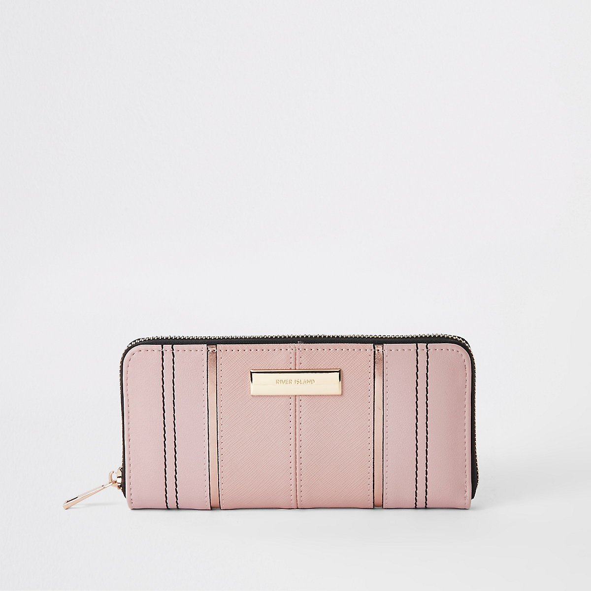 Light pink zip around purse - Purses - Bags & Purses - women