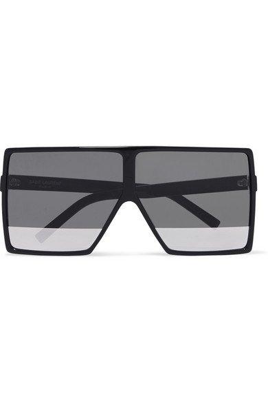 Saint Laurent   Oversized square-frame acetate sunglasses   NET-A-PORTER.COM