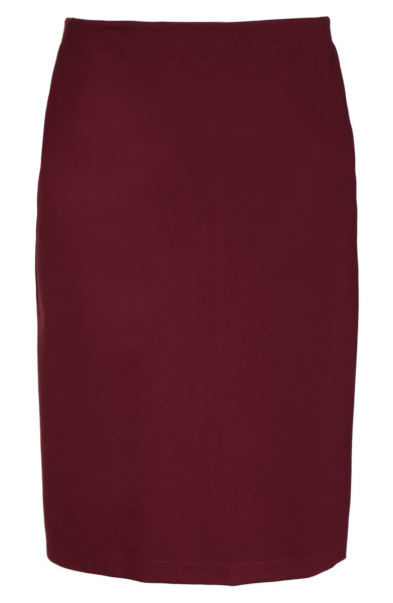 Halogen® Knit Midi Skirt (Plus Size) | Nordstrom
