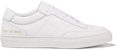 Resort Classic Perforated Leather Sneakers - White
