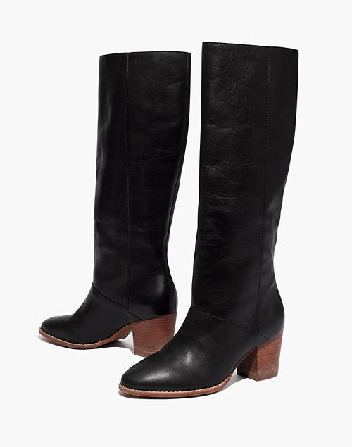 The Kiki Knee-High Boot black