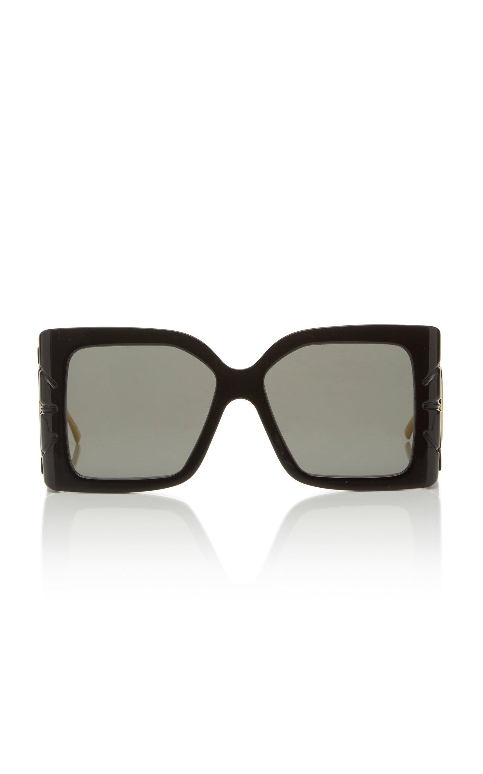 Gucci Acetate Oversized Square-Frame Sunglasses