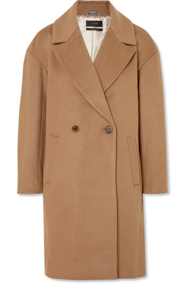J.Crew Maxine coat made of a wool blend