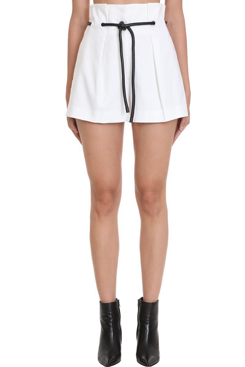 3.1 Phillip Lim Shorts In White Cotton