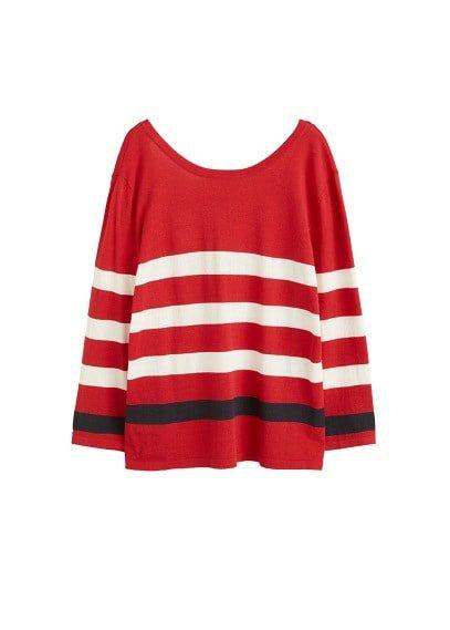 Violeta BY MANGO V-back sweater